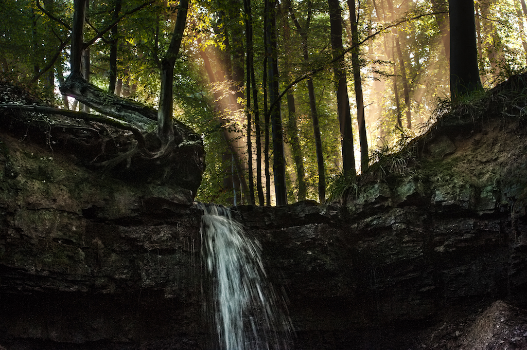 Wasserfall am Fahrenbach.