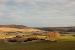 Vom Knappberg in Sonneborn kann man diesen schönen Ausblick genießen. - © Heike Reineke
