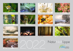 Kalender NaturNahLippe 2022